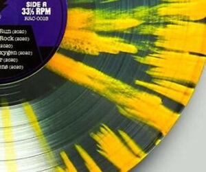 THE SWEET Isolation Boulevard Splatter Vinyl LP Originalautogramm limitiert 100!