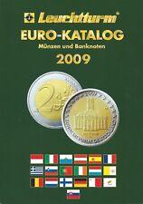 EURO-KATALOG EURO MÜNZEN UND BANKNOTEN 2009 LEUCHTTURM MÜNZKATALOG