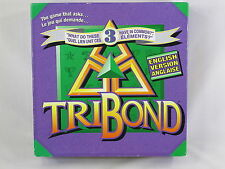 Tribond 1992 Board Game Patch Games 100% Complete Excellent Condition