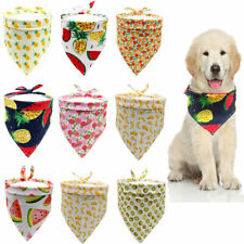 Fruit Print Pet Small Dog Cat Scarf Bandanas Bibs Puppy Grooming Accessories US