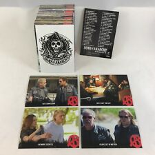 SONS OF ANARCHY SEASONS 1-3 by Cryptozoic 2014 Complete Card Set (100) SAMCRO