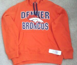 Denver Broncos Hooded Pullover Sweatshirt