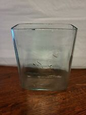 Vintage 1900s Antique Aquarium Fish Tank Terrarium Glass Wet Battery Jar SC Case