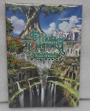 Etrian Odyssey Forest of Eternity Artbook, came as a preorder bonus