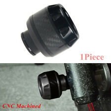 Motorcycle Front Fork Frame Sliders Crash Protection Collision Protector Black