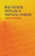 Real-Variable Methods in Harmonic Analysis: By Torchinsky, Alberto