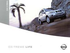 0062NI Nissan X-Trail Prospekt 2004 11/04 deutsche Ausgabe brochure