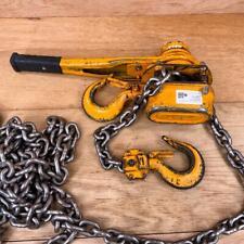 Harrington 3 Ton Lb030 Lever Chain Hoist Come Along 15ft Chain 3ton 6000 Lb