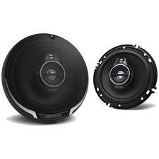 "Kenwood 6.5"" 3 Way 320W Flush Mount Coaxial Car Stereo Speakers 