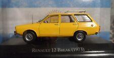renault 12 Break 1979   Argentina  autos inolvidables Rare Diecast 1:43
