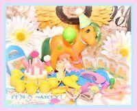 ❤️My Little Pony MLP G1 Vtg UK TUTTI FRUTTI Birthday Party Gift ACCESSORIES❤️