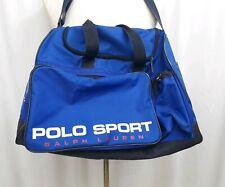 VTG 90's Polo Sport Ralph Lauren USA Track & Field Duffle Gym Royal Blue Bag