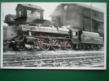 PHOTO  LMS STANIER BLACK FIVE 4-6-0 LOCO 44705 AT ST ROLLOX SHEDS 9/45