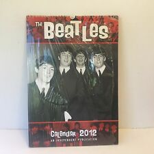 THE BEATLES COLLECTABLE & RARE MEMORABILIA 2012 CALENDAR NEW SEALED