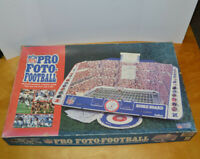 VINTAGE NFL PRO FOTO-FOOTBALL GAME STRATEGY 1990 CADACO