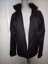 ICE BLUE Men's Winter Wear Black Jacket~100% Polyester~Size L