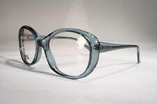Women's New Oversize Clear Cerulean Baby Blue Cyan Eyeglasses Optical Frames