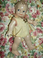 "Rare size Cameo, 8"" jointed composition Scootles (O'Neill Kewpie) doll very good"