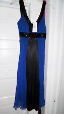 NEW Women's size 6 Jonathan Martin formal dress. blue black party   $80 RETAIL!