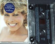 TINA TURNER WILDEST DREAMS CASSETTE  ALBUM 12 TRACKS UK ISSUE