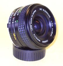Minolta MC W.ROKKOR 28mm 1:3,5 in MINT condition!