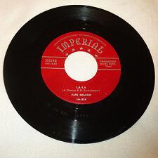 R&B 45RPM RECORD - FATS DOMINO - (RED SCRIPT LABEL) IMPERIAL 5348