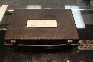Dillon Dynamometer Model AP 2000 lb Pound Capacity, 20 lb Divisions Weight Scale
