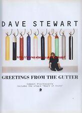 Dave Stewart Greeting From The Gutter Album 1994 Magazine Advert #1064