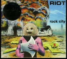Riot Rock City CD new 2015 reissue digipack Metal Blade Records 3984-15368-2