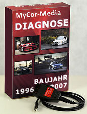 Diagnose OBD2 für BMW KDIAG Pro Plus INPA Rheingold ISTA NCS EXPERT DIS Software