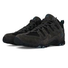 Hi-tec Hombre Quadra Mid Wp Caminar Botas Negro Deporte Exterior Transpirable