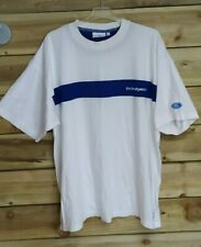 More details for ford rallye sport white t-shirt - official ford & embroidered details rare - xxl