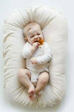 Snuggle Me Organic Infant Lounger with Natural Cover - Brand New
