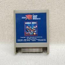 ⭐Mario Bros Game Cartridge Atari XE Contacts Cleaned VGC⭐👀