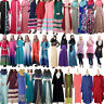 Muslim Abaya Kaftan Islamic Jilbab Women Long Maxi Cocktail Dress Robe Dubai