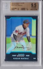 2004 Bowman Chrome Refractor Kazuo Matsui Rookie Graded BGS 9.5