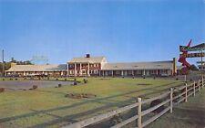 Seekonk Massachusetts 1950s Postcard Gasteway Motor Inn nr Providence RI