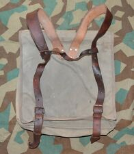 WW2 Bulgarian Royal Army Officer Rucksack Military Backpack Canvas BAG