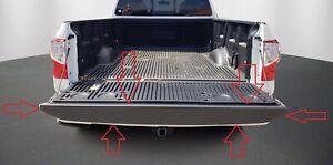 NISSAN TITAN 2016-2021 TAILGATE BED CAP / Tailgate Molding OEM 93486-EZ00A