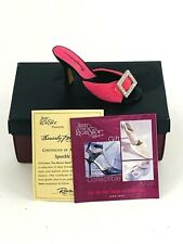 Just The Right Shoe by Raine 2000 Sparkle Shoe Mini Collectible #25330