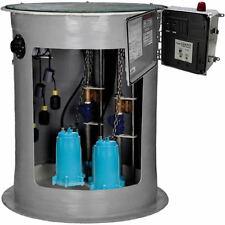 "Little Giant GP-DPLX3660 - 2 HP GP Series Duplex Grinder Pump System (36""x 60..."