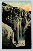 Niagara Falls NY, Winter Scene, Cave of the Winds Vintage, New York Postcard