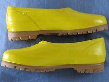 Mid West Yellow Rain Booties Garden Booties 7 Waterproof new NWT 37.5 EU
