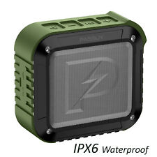 PASBUY P8 Portable In/Out IPX6 Waterproof Bluetooth 4.1 NFC TF FM Speaker Green