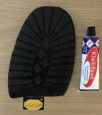 VIBRAM Hiking-Walking|DIY Half Soles|£4.99|Size 45/6|BOOTS|COMMANDO|+GLUE|REPAIR
