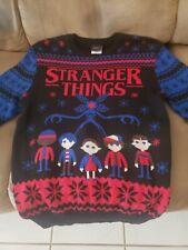 Stranger Things Christmas sweater - Medium