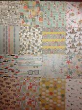 """6"""" X 6"""" 16 Hoja Catador Paquete de muestra Vela lejos álbum de recortes elaboración de Tarjetas artesanal de papel"""