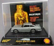 Shell 007 Goldfinger Aston Martin DB5 1:72 die cast BNIB sealed pack