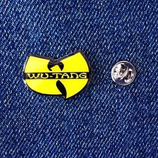 Wu Tang Clan Pin Badge Hip Hop Rap Hiphop Wu-tang