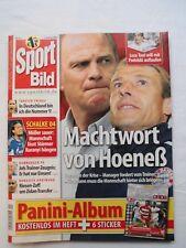 Sport Bild Nr.40 ,Okt. 2008 ,incl. Bundesliga Album 2008/09 von Panini  ,RAR